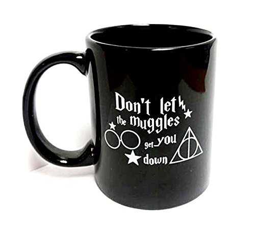 Sweet Dream Don't Let The Muggles Get You Down Office Funny Mug-Magic Coffee Mug-Drink black Ceramic MUG-The Perfect Mug Have a Nice - On Not Time Delivered Fedex
