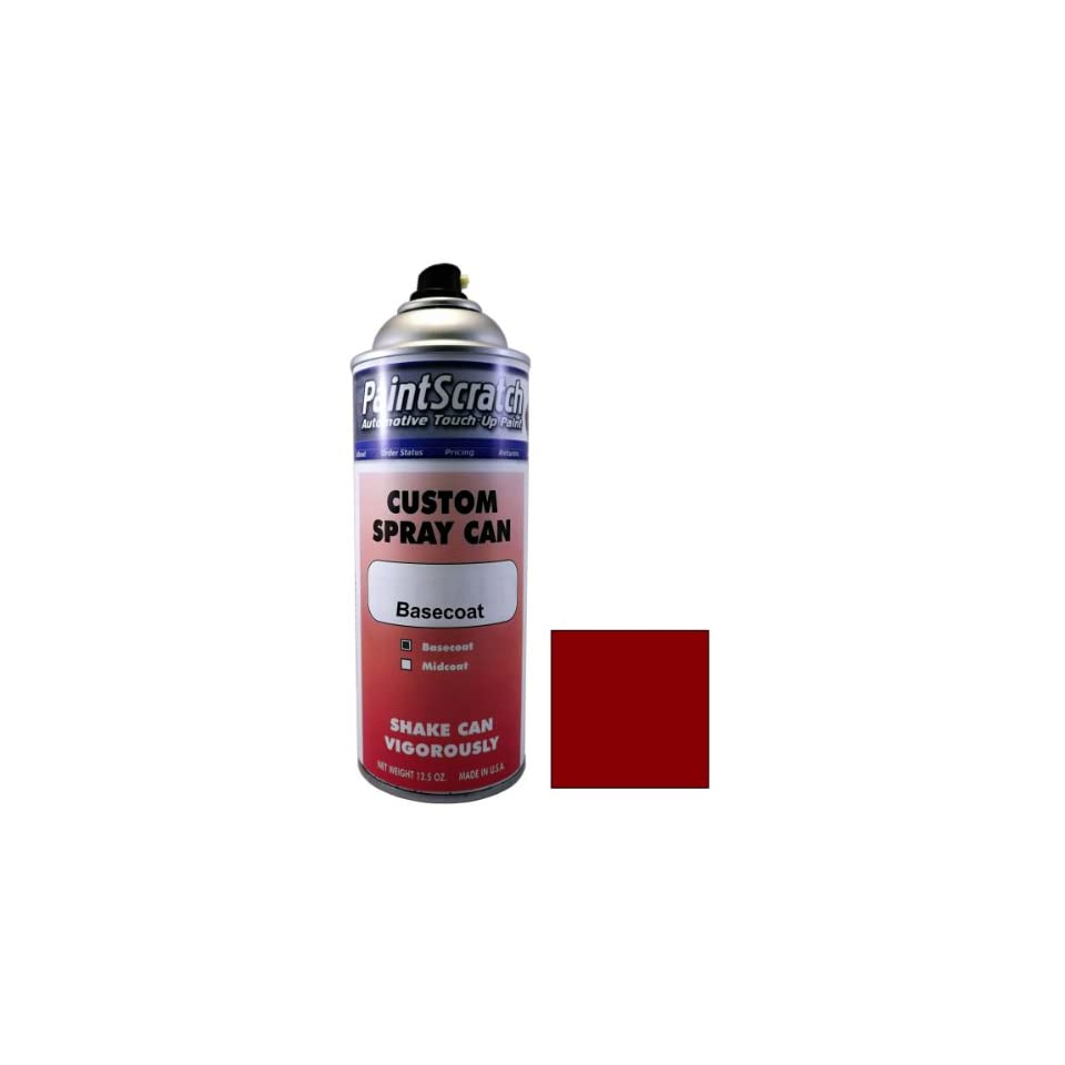 12.5 Oz. Spray Can of Mars Red Touch Up Paint for 2006 Mercedes Benz CLK Class (color code 590/3590) and Clearcoat