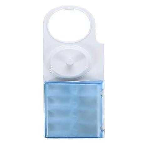 Voraca Soporte para Cepillo de Dientes eléctrico para Caja de Almacenamiento para 4 Cabezales de Cepillo