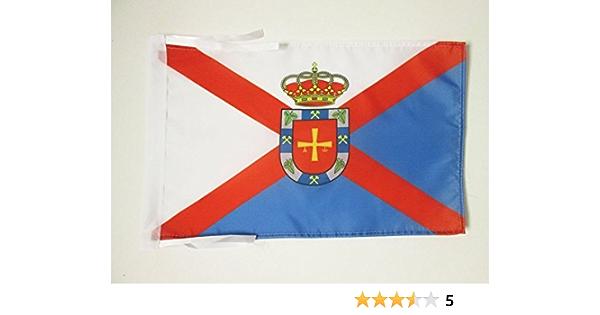 AZ FLAG Bandera de EL BIERZO 45x30cm - BANDERINA DE EL BIERZO 30 x 45 cm cordeles: Amazon.es: Hogar