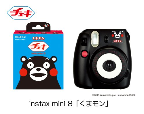 FUJIFILM Cheki instant camera instax mini 8 Kumamon INS MINI 8 KUMAMON