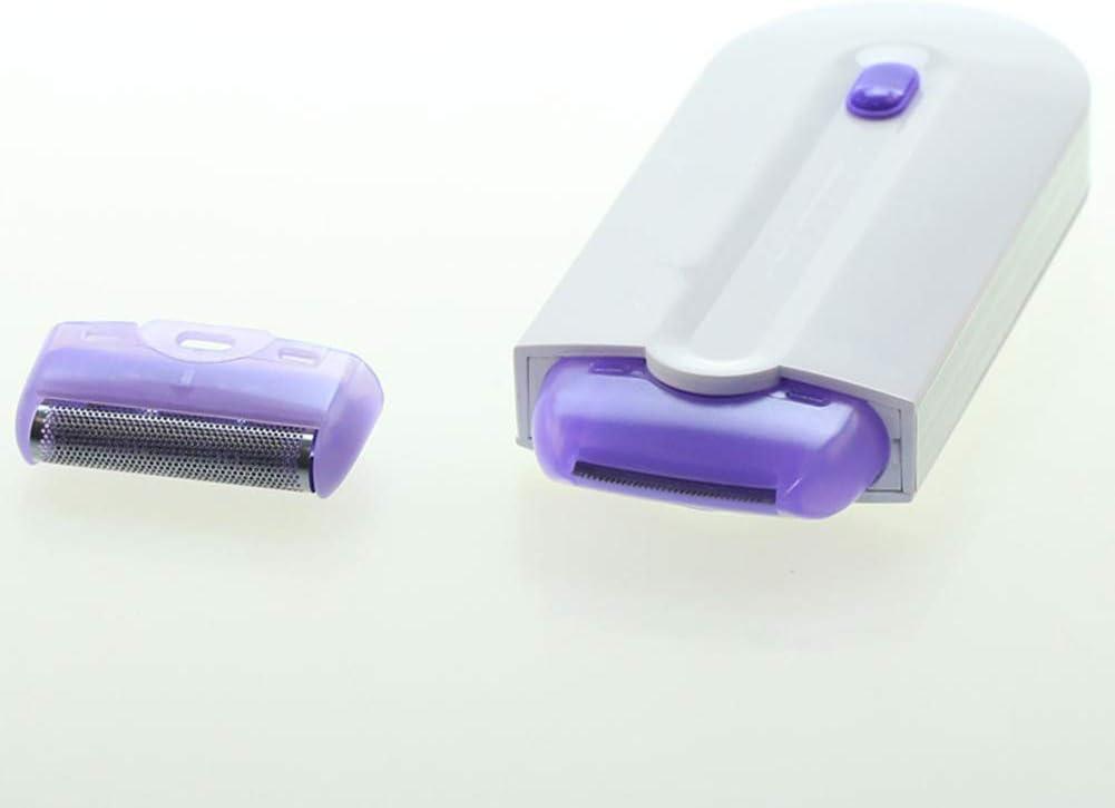 Depiladora Mujer, Afeitadora Mujer Eléctrica con Tecnología WetCejas, Piernas, Nariz, Bikini Dry y USB Cargador Para ...