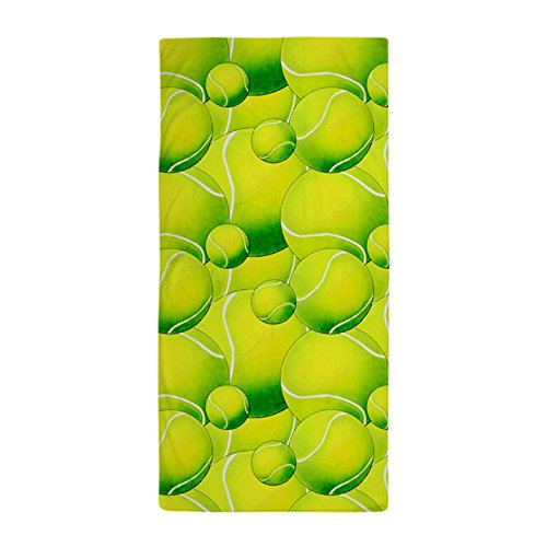 CafePress Tennis Ball Pattern 1 Beach Towel Large Beach Towel, Soft 30
