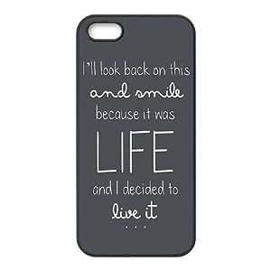 iPhone 5,5S Phone Cases Black Ed Sheeran Quotes CKL836024