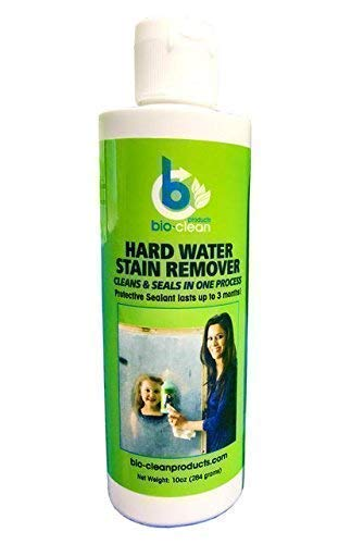 Bio Clean: Hard Water Stain Remover (10 Oz) - Our Professional Cleaner Removes Tuff Water Stains From A Variety Of Surfaces- by Bio Clean Products (Best Way To Remove Water Spots From Shower Glass)