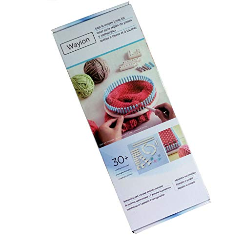 Wayion Multi-Function Craft Yarn Martha Stewart Crafts Knit and Weave Loom Kit DIY Tool by Wayion (Image #5)