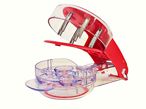 YouTensils Cherry Pitter Tool Corer - Includes Cherry Recipe EBOOK | 6 Cherries at Once