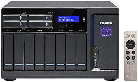 QNAP TVS-1282 Ethernet Torre Negro NAS - Unidad Raid (Unidad de ...