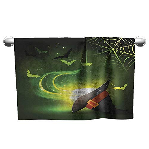 Beach Towels for Kids Halloween Party Bright Picture Hair Towels for Women Salon Towels 10 x 40 -