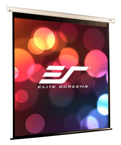 Projection Masking Screen - Elite Screens VMAX2, 166-inch 16:9, Wall Ceiling Electric Motorized Drop Down HD Projection Projector Screen, VMAX166XWH2