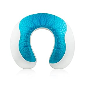 Modern Home Memory Foam Gel Pillow : Amazon.com: Modernhome Cooling-Gel Memory Foam Travel Neck Pillow: Home & Kitchen
