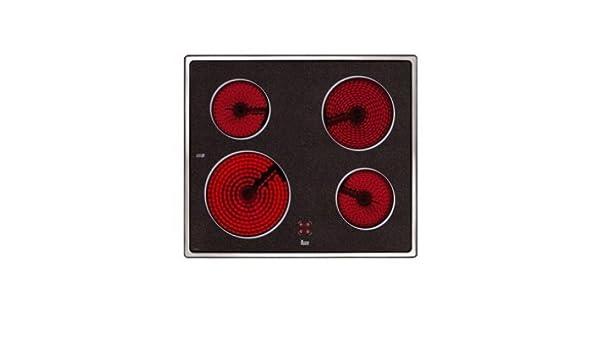 VITROCERAMICA TEKA VTC B 4 ZONAS INOX (10204072): Amazon.es ...