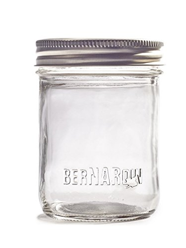 Bernardin Mason Jars - 250 mL - Decorative - Standard