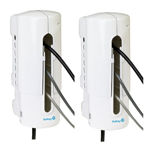 Safety 1st Power Strip Outlet Cover, 2-Pack