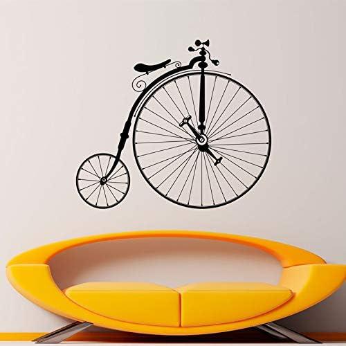 zqyjhkou Calcomanía de Bicicleta Antigua Hipster Etiqueta de ...
