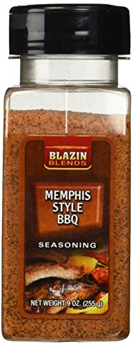 Blazin Blends Memphis Style Barbecue Seasoning 9 Oz 1