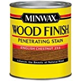 Minwax 700444444 Wood Finish Penetrating  Stain, quart, English Chestnut