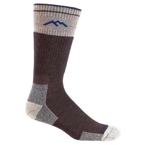 Darn Tough Vermont Merino Wool Boot Cushion Sock (Chocolate, Medium) by Darn Tough