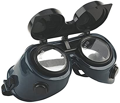 2 X Gas Welding Goggles with Flip-Up Lenses Goggles