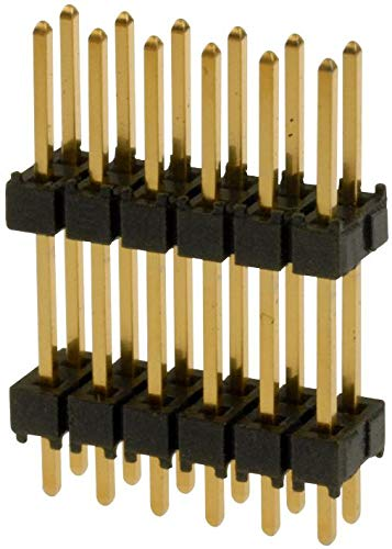 DW-36-10-L-D-472 - Board-To-Board Connector, 2.54 mm, 72 Contacts, Header, DW Series, Through Hole, 2 Rows, (Pack of 5) (DW-36-10-L-D-472)