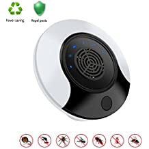 YIVEN Pest Repellent Ultrasonic Pest Control Mouse Plug in Ultrasonic Pest Repeller Indoor Outdoor Electronic Control Rodent Mosquito,Insect,Roach,Spider,Ant,Rat And Flea Safe Control No Chemicals