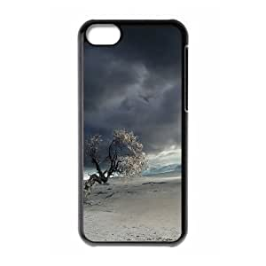 Barren Land Phone Case For iPhone 5C Black