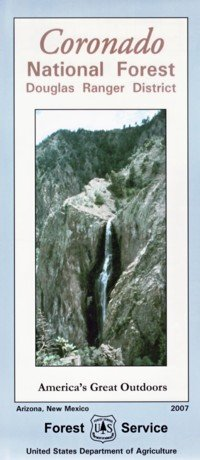 Coronado National Forest Map (douglas ranger district) - Waterproof by Forest Service