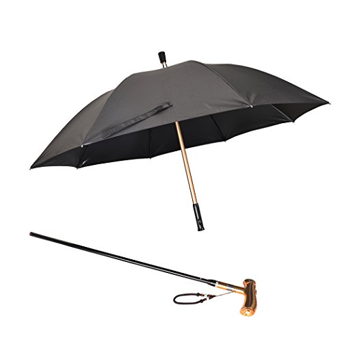 on Smart Cane Umbrella (Gold) ()