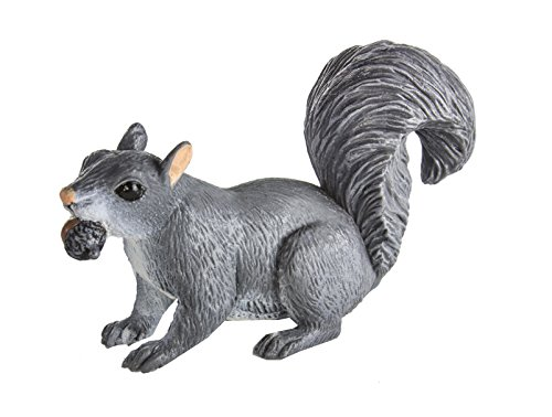 Safari Ltd Wild Safari North American Wildlife Gray Squirrel (Schleich Squirrel)