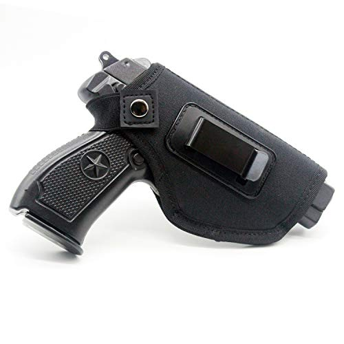 ideanovo Concealed Carry Holster Carry Inside or Outside The Waistband for Right and Left Hand Draw Fits Subcompact to Large Handguns (Black)