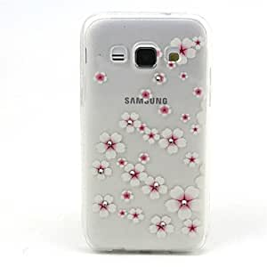 Transparent Diamond Multicolour Painting Sculpture Soft TPU Back Cover for Samsung Galaxy A3 Case (Assorted Color) , 4#