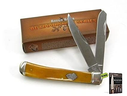 Amazon.com: Ruff RIDER - Cuchillo de acero al carbono para ...