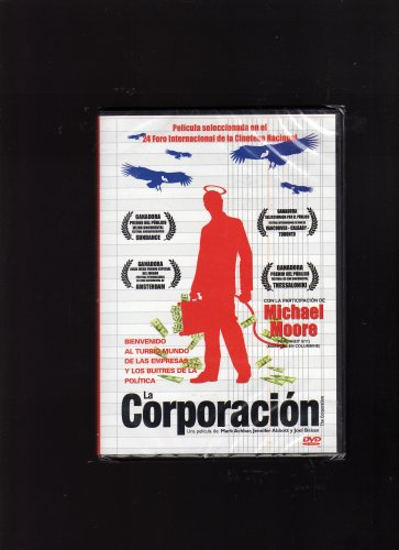 Amazon.com: The Corporation (La Corporacion) [NTSC/REGION 1 & 4 DVD. Import-Latin America]: Ray Anderson (II), Pope John XXIII, Jonathan Ressler, ...