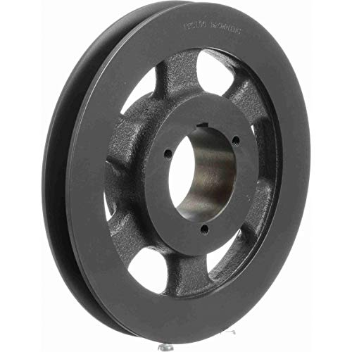1 Groove Browning 1TC88 Split Taper Sheave Uses Q1 Bushing Cast Iron C Belt