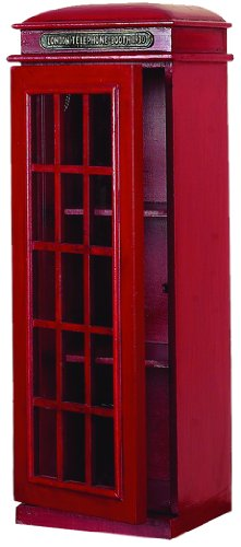 Deco 79 3-Tier London Phone Booth CD (London Three Tier)