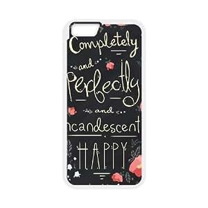 iPhone 6 Plus 5.5 Inch Phone Case Cover White Austen Happy EUA15999427 Plastic Phone Cases Fashion