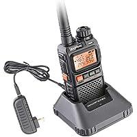 ETbotu UV-3R Plus Walkie Talkie UHF VHF Portable Flashlight UV 3R+ Ham FM Radio
