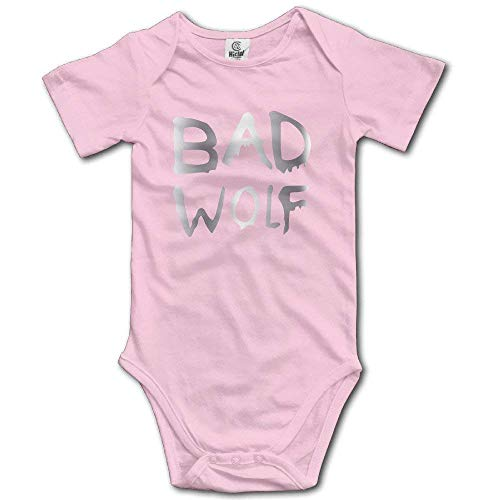 Girls' Boys' Infant Bad Wolf Doctor Who Romper Jumpsuit Bodysuit