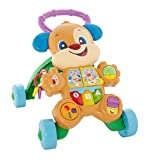 Fisher-Price Laugh & Learn Smart Stages Learn With Puppy Walker, Green [English]