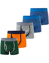 Toddler Boys Boxer Briefs 5 Pack Kids Underwear