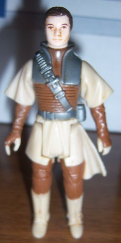 Star Wars vintage 1983 KENNER BOUSHH Princess Leia bounty hunter disguise jabba the hutt rotj return of the jedi (faded paint loose joints dirty)