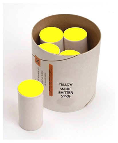HUMO DE COLOR AX-60 AMARILLO (caja con 5 cartuchos): Amazon.com.mx ...