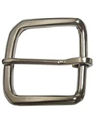 "Single Prong Square Belt Buckle Fits Belts 1 3/8""- 1 1/2"" Wide"
