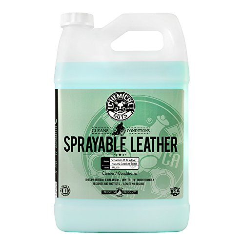 Chemical Guys SPI_103 Sprayable Leather Cleaner and Conditioner in One (1 Gal) -