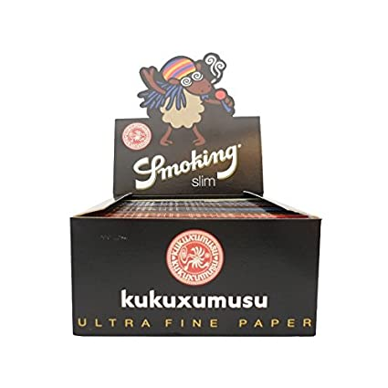 Caja de Papel de Fumar Smoking KUKUXUMUSU - x3