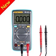 Digital Multimeter,V-Resourcing Auto-Ranging True-RMS Ranging Digital Multimeter Multi Tester,OHM/Hz/Temp/Duty Cycle AC/DC Measuring Tester With backlight