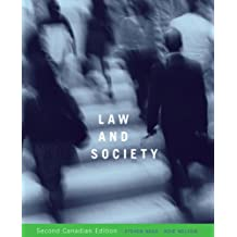 Law and Society, Second Canadian Edition (2nd Edition)