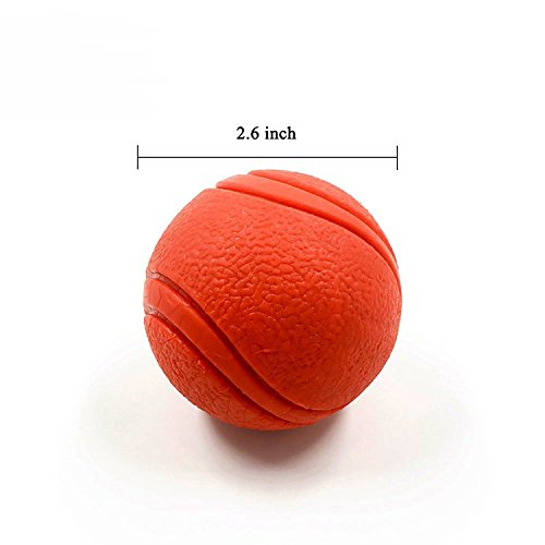2-Pack-YUSEN-Tough-Rubber-Bouncy-Tennis-Ball-Floatable-Retrieve-Chew-Toy-Virtually-Indestructible-for-Dogs-Water-Swimming-Pool-Play-Tennis-Size-26-Inch