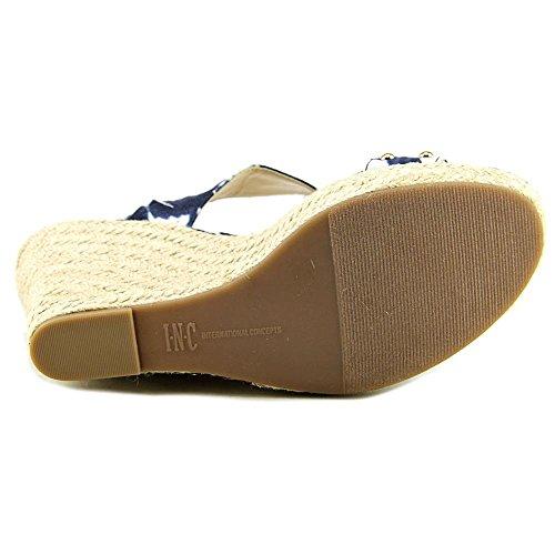 INC International Concepts Alffie 2 Tessile Sandalo con la Zeppa