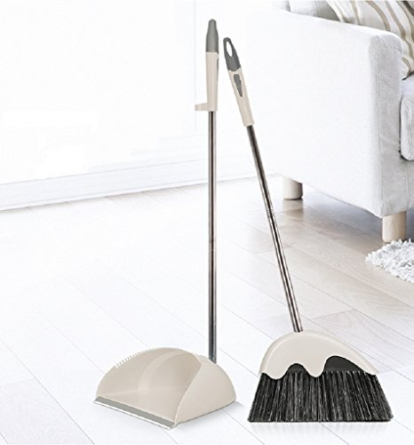 love the dustpan, broom leaves much to be desired...